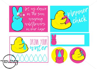 free peeps planner stickers mom envy