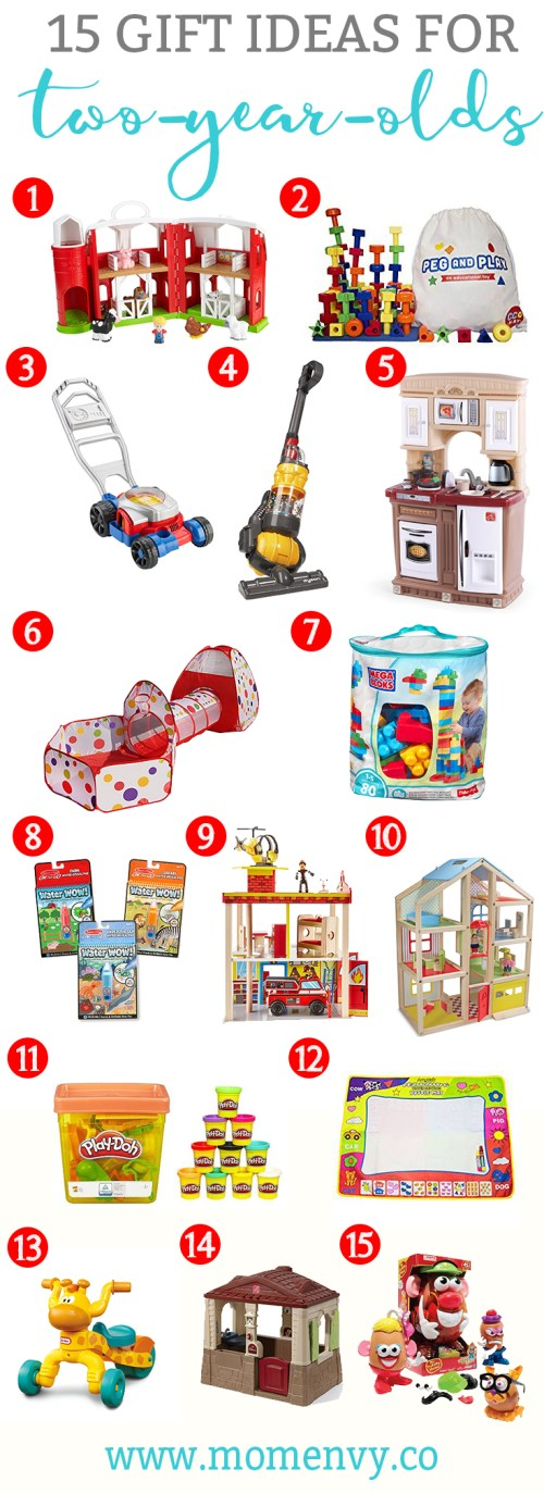 Gift Ideas For Two Year Olds