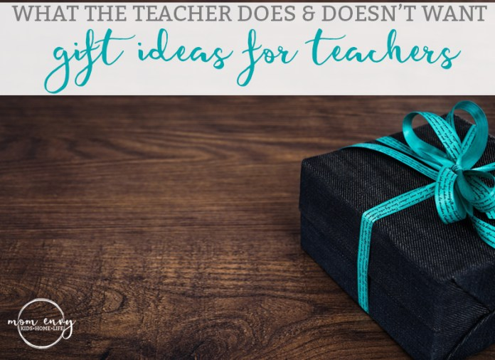 Teacher Gift Ideas What The Teacher Really Wants And
