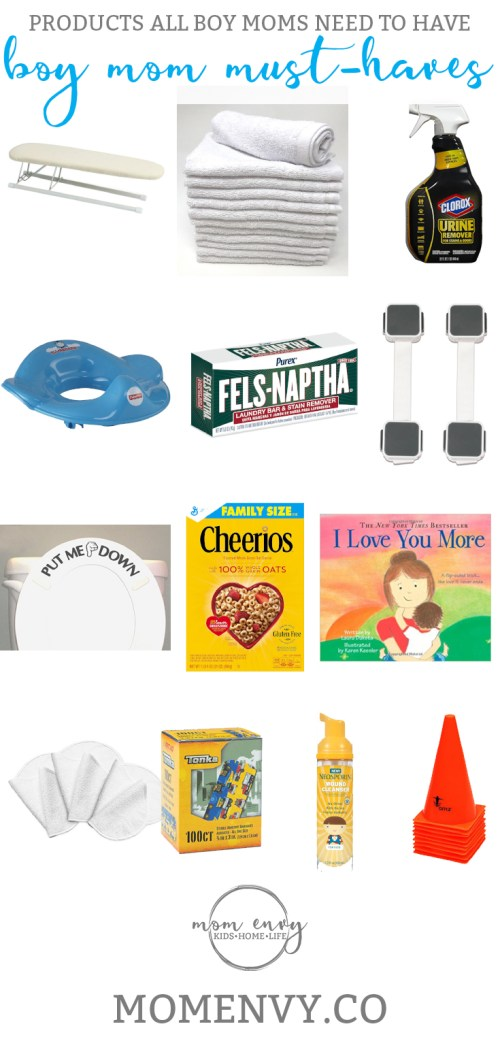 Boy Mom Must Haves from Mom Envy. Products all Boy Moms Need. Baby Registry must haves. Baby registry list. Boy baby registry. Boymom must haves. Products for boy moms. Products for boys. Products for baby registry. Baby registry gifts. Boy baby registry gifts.