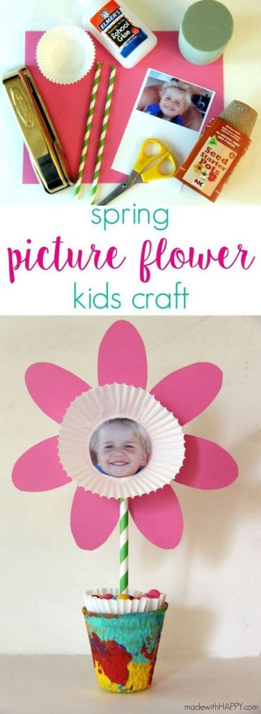 Mother's Day Crafts Round -up From Mom Envy - Flowers from Made With Happy