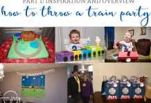 Train Themed Birthday Party Ideas from http://momenvy.co. Thomas the Tank Engine birthday party ideas. Train party. Thomas party. Get some awesome ideas about how to throw a train party that your kid's friends will love!
