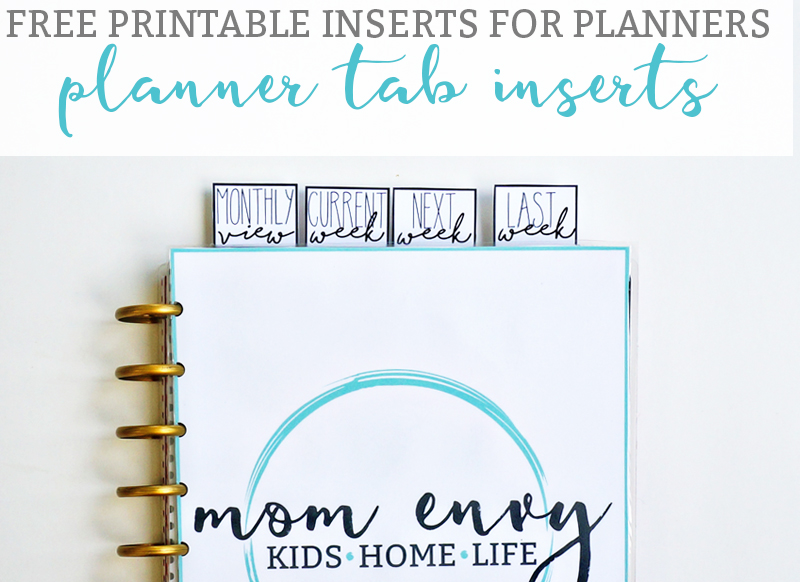free dividers for planners free tab dividers to keep your place