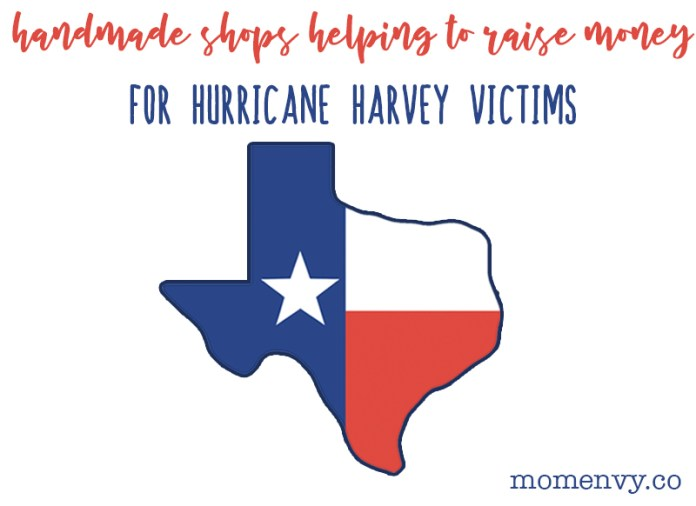 Handmade Shops Donating Proceeds to Hurricane HarveyShop with a Purpose. Help support the Hurricane Harvey Relief while getting something special for yourself or someone you know. Check out these planner and homemade shops that are donating their proceeds to Hurricane Harvey Relief efforts. #hurricaneharvey #shopsmall #planneraddict
