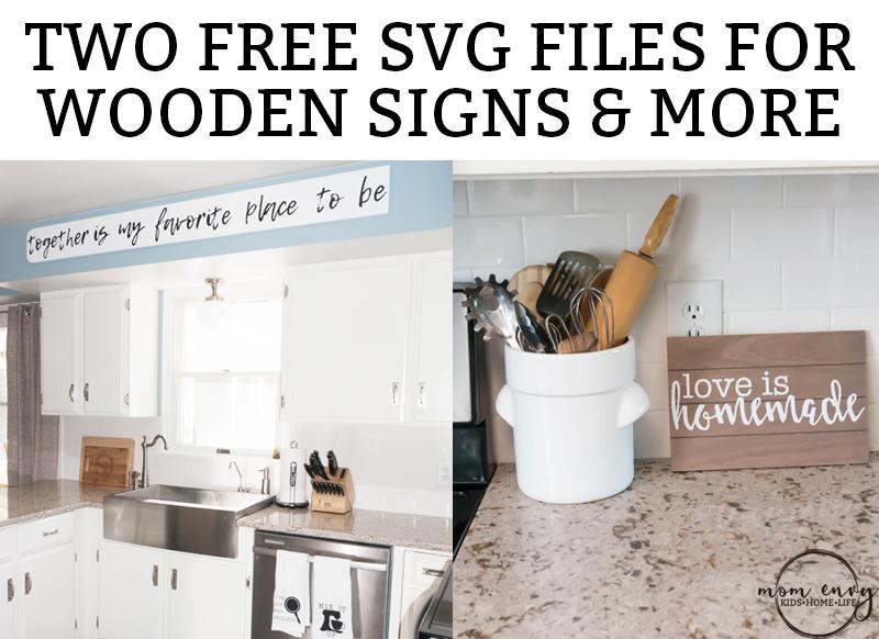 Free Kitchen Signs