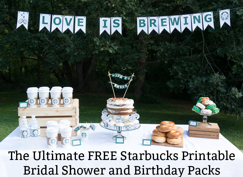 download the ultimate set of free party printables for a coffee