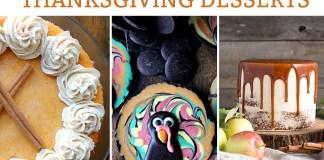 70 Incredible Thanksgiving Dessert Recipes. The best of the best bloggers dessert recipes perfect for fall. #thanksgiving #thanksgivingrecipes #pumpkinpie #fallrecipes #dessertrecipes