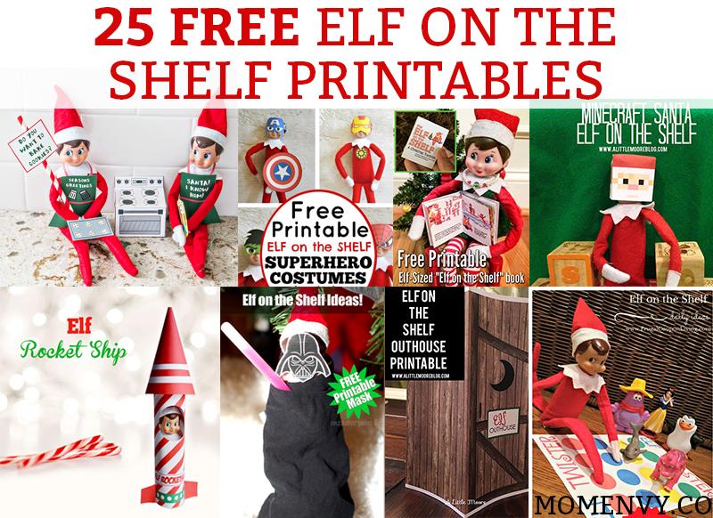 25 Free Elf On The Shelf Printables Easy Elf On The
