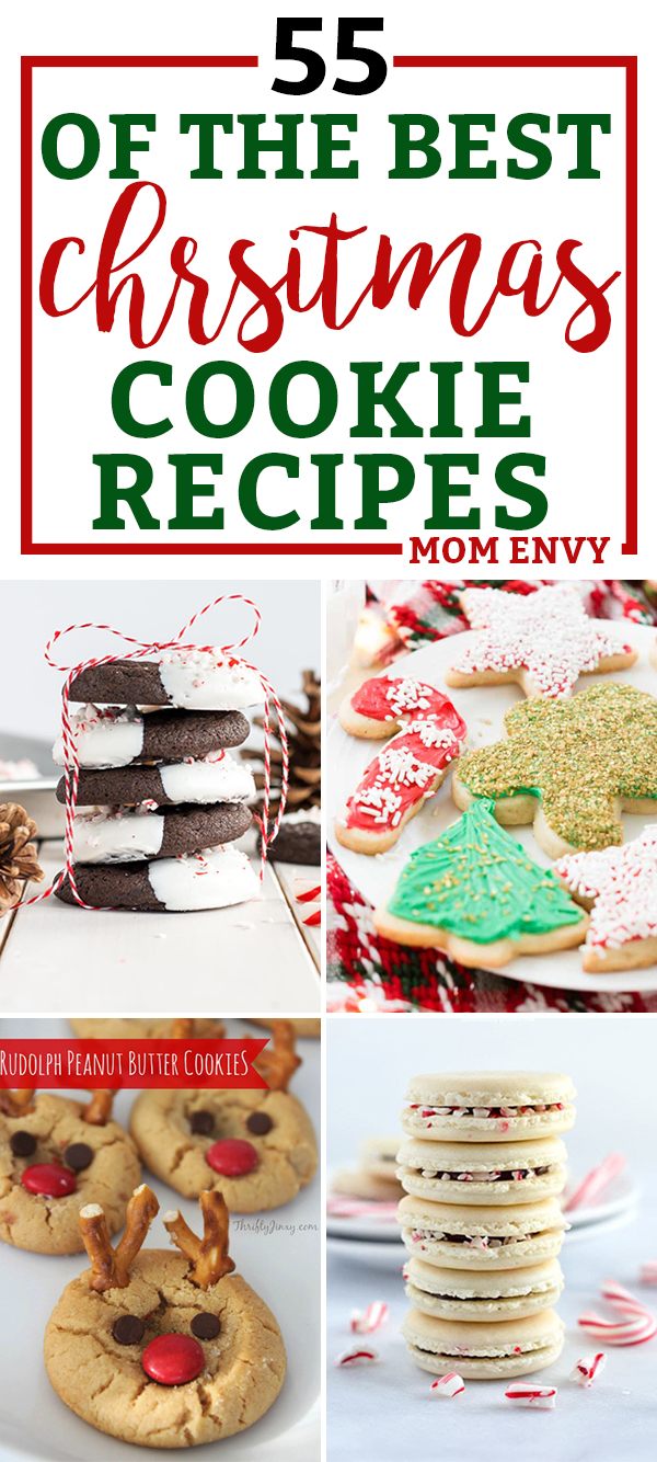 The Best Christmas Cookie Recipes - 55 of the Best Recipes for Christmas