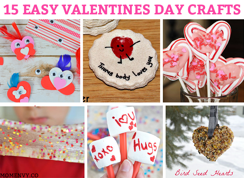 Valentines Day Crafts For Kids Lots Of Valentine Craft Ideas For Kids To Do At