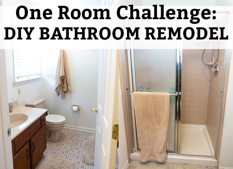 DIY Bathroom Remodel   The Before. Check Out The Start Of Our One Room  Challenge
