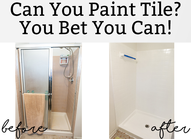 Can you paint tile you betcha learn how to reglaze a shower can you paint tile you bet you can learn about tub and tile deglazing tyukafo