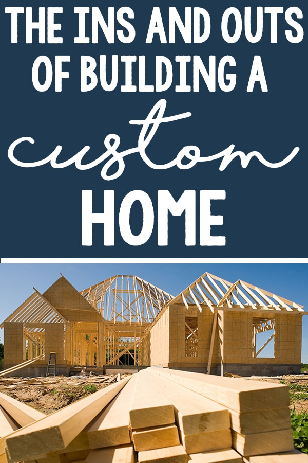 Building a Custom Home. Learn the ins and outs of how to build a custom home from our real life experience. #hgtv #homedeocr #floorplans