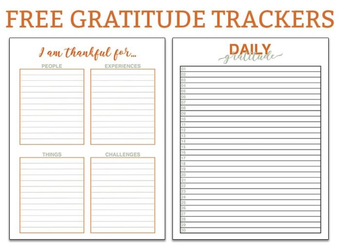 FREE Gratitude Planner Trackers. It's the time of year to think about all we have to be grateful for. Make it easy with this free gratitude printable. It's perfect for any size planner including The Happy Planner, Erin Condren, Recollections, Travelers Notebook, and more! #plannerprintables #thanksgiving #gratitude #bulletjournal