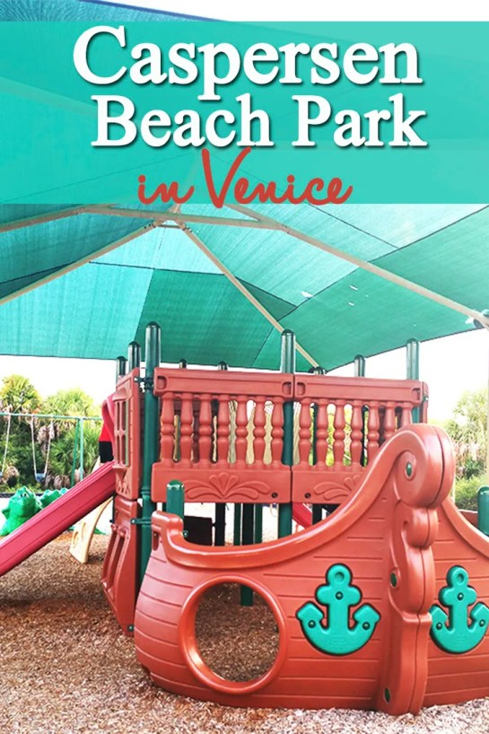 Caspersen Beach Park in Venice, Florida