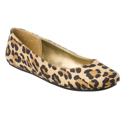Womens Mossimo Supply Co. Odell Ballet Flats - Cheetah. $14.99
