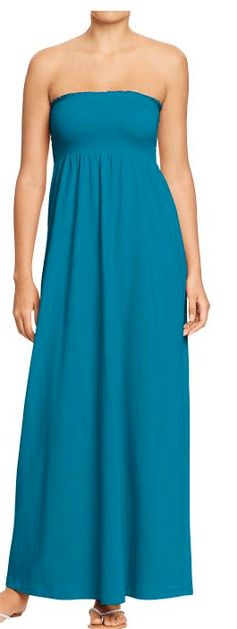 Old Navy Women's Smocked Maxi Tube Dresses - $29.94