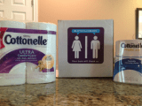 We Have Come a Long Way Baby…. Cottonelle Cleaning Routine!