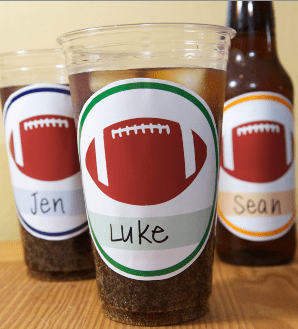 football cup printables