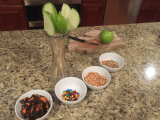 Halloween Carmel Candy Apple Skewers (VIDEO)