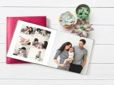 FREE Photo Book! You can select a 10-page 8×8 photo book or a 14- page 6×6 photo book!