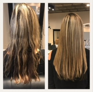 Mom fab fun great lengths hair extensions for the holidays at the owner sandy was able to match the great lengths hair extensions perfectly to my highlights and lowlights she blended it beautifully pmusecretfo Choice Image