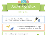 Printable Easter Egg Hunt Clues for Kids!
