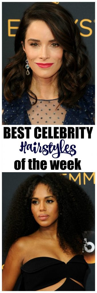 Of course the gowns are incredible at the Emmys and gain lots of attention, but what I love is all of the celebrity hairstyles! Click through to see all of the gorgeous celebrity hair from gals like Kerry Washington, Ellie Kemper and Kristen Bell.