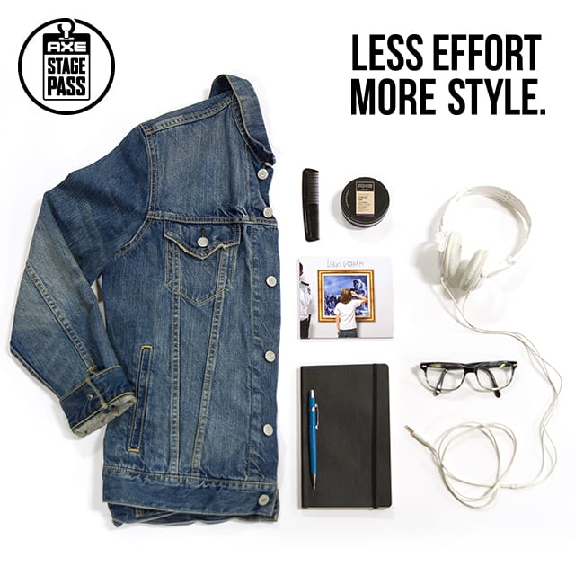 Axe, Less Effort. More Style.