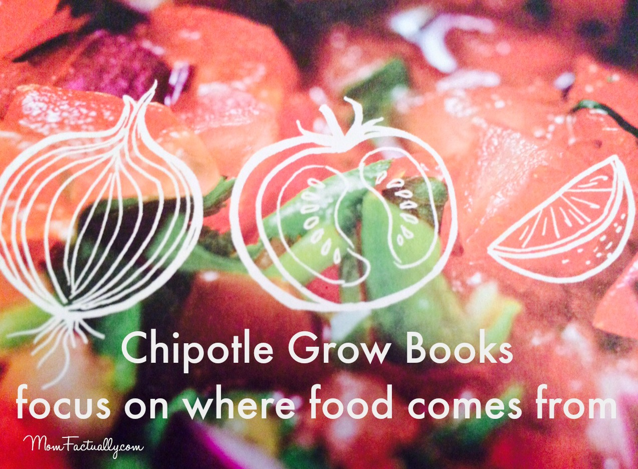 Chipotle Grow Books Make Learning About Food Fun