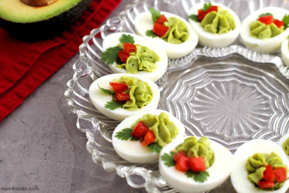 Christmas Deviled Eggs recipe - holiday appetizers