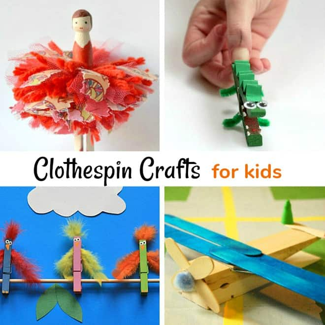 Clothespin Crafts Kids