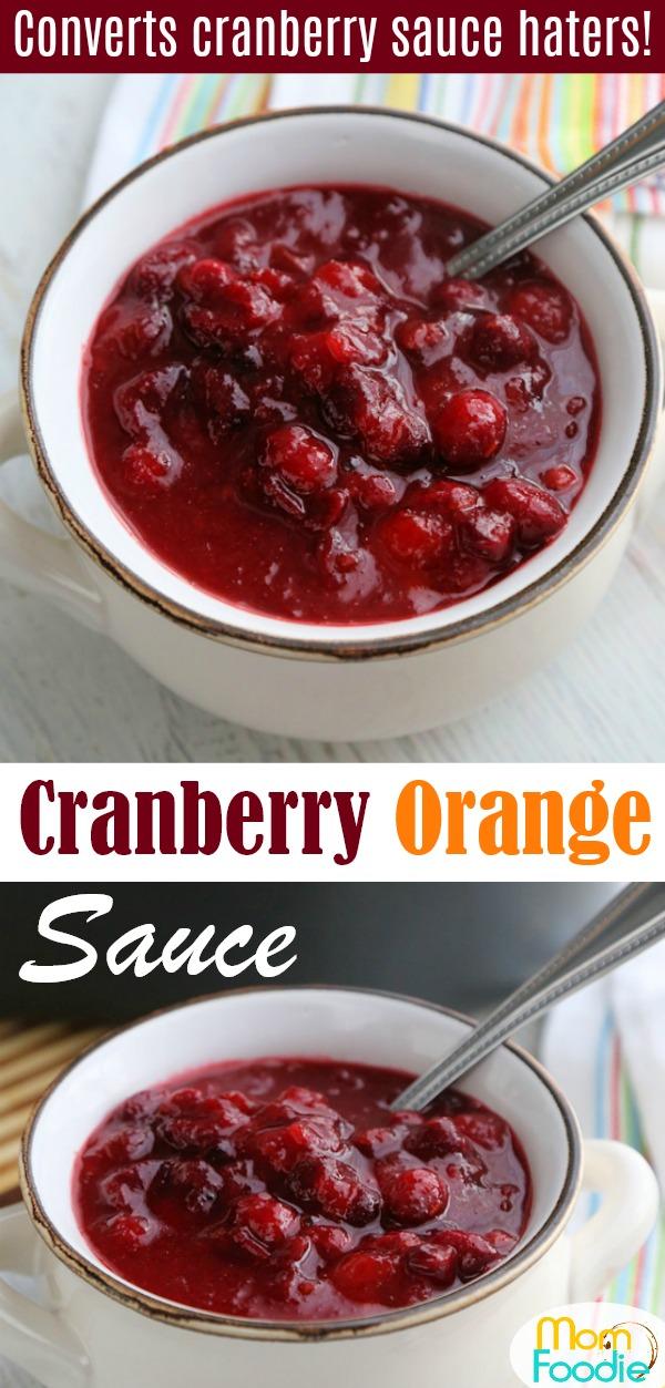 Cranberry Orange Sauce Pinterest
