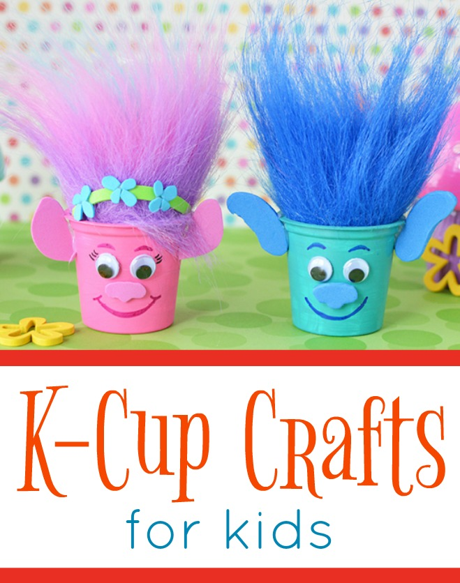K-cup Crafts for Kids