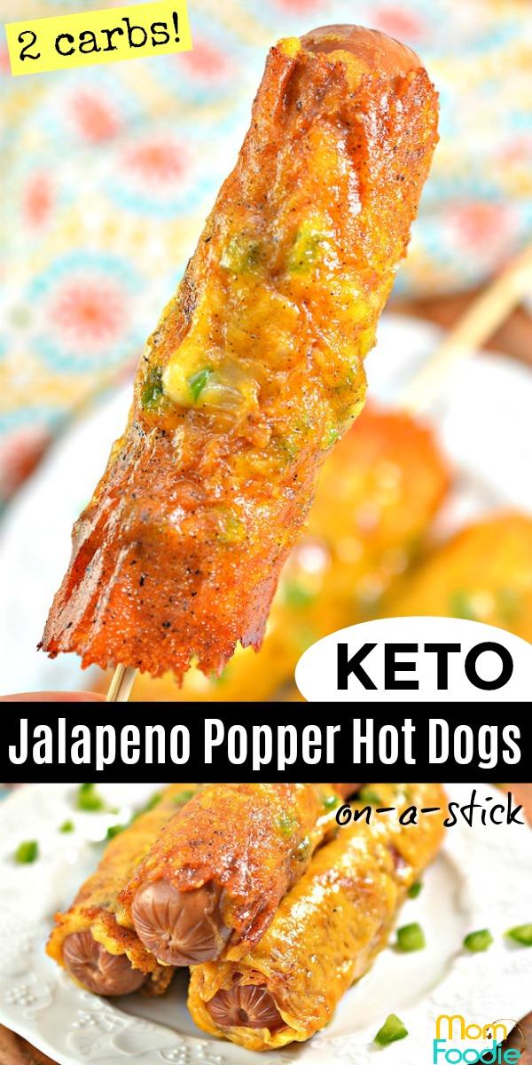 Keto Jalapeno Popper Hot Dogs pinterest.jpg