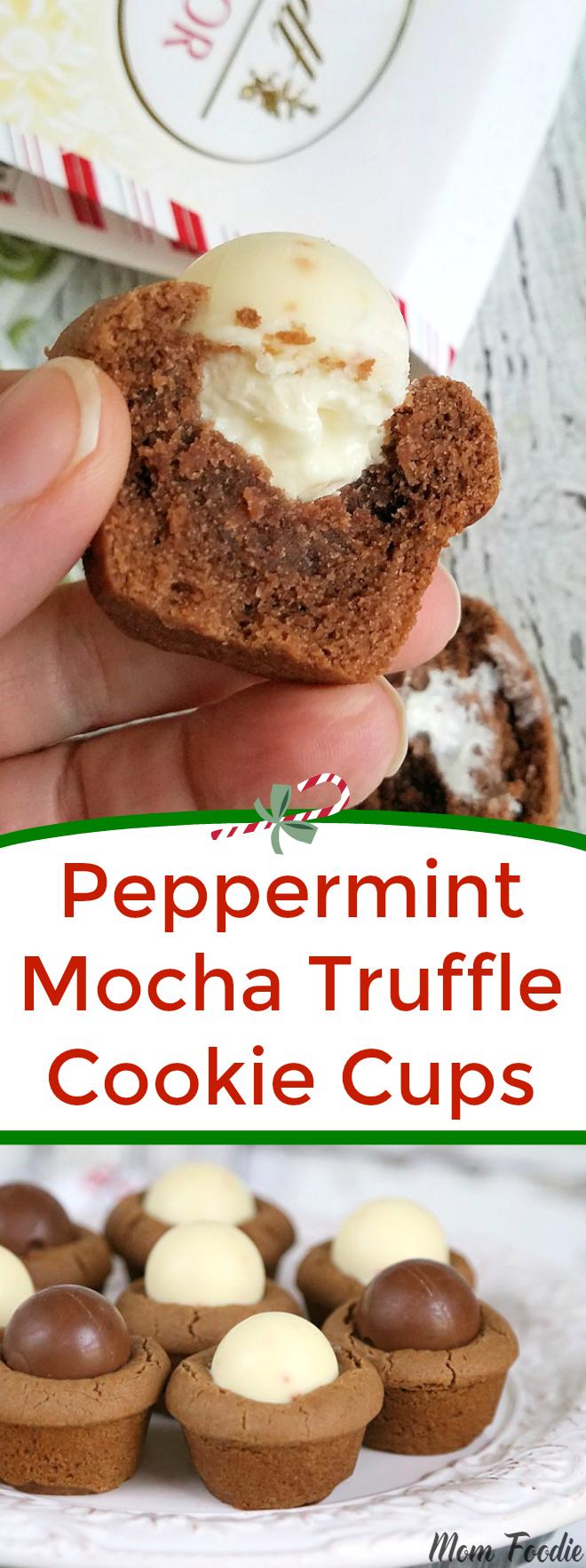 Peppermint Mocha Cookies