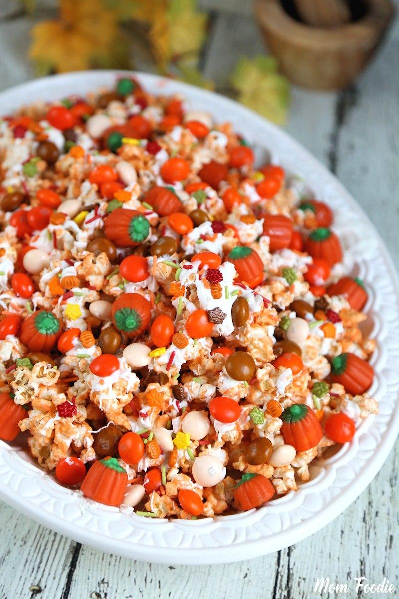 Pumpkin Spice Popcorn Mix Recipe