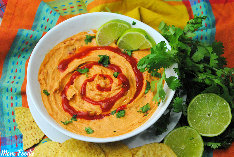 Sriracha Lime Hummus Recipe