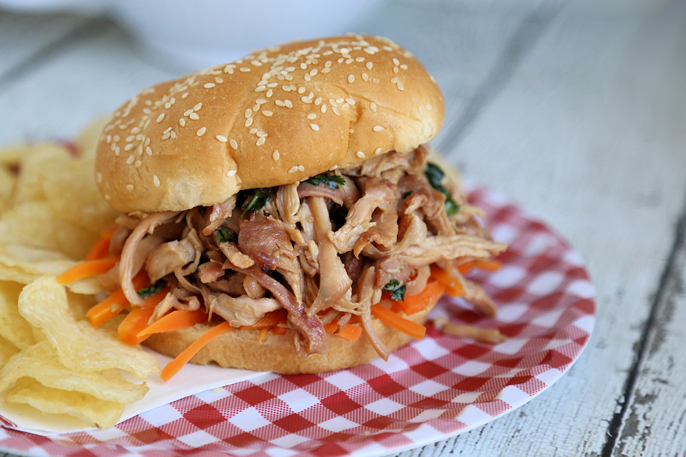 Thai Chicken Sandwich Recipe