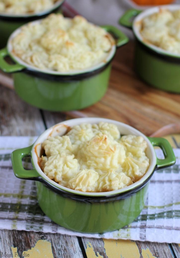 Turkey Dinner Shepherds Pie