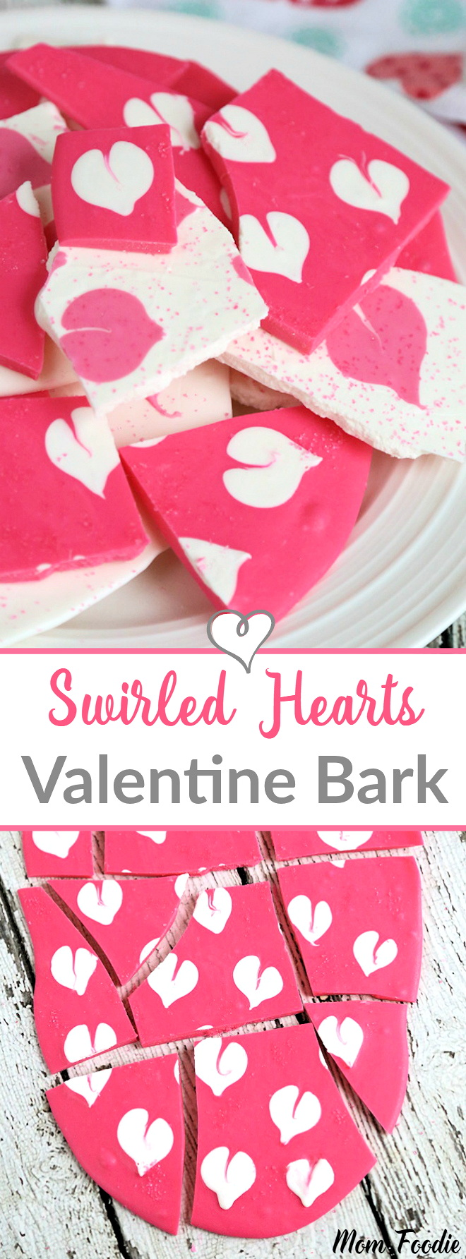 Valentine's Chocolate Bark: Homemade Candy