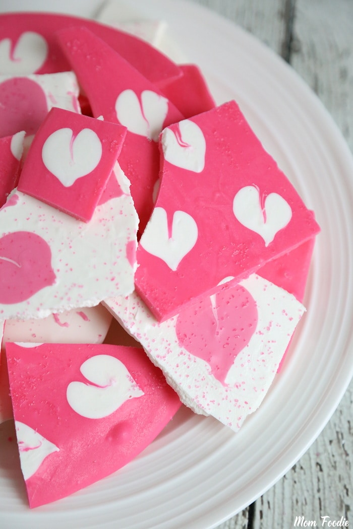 Valentine's Chocolate Bark