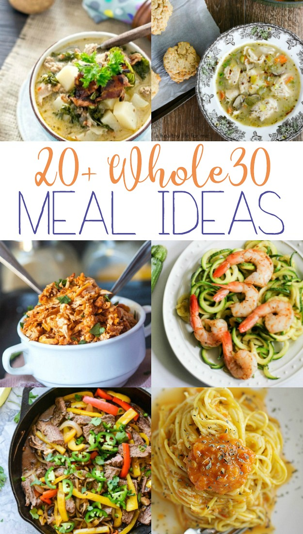 Whole 30 Meal Ideas the family will love