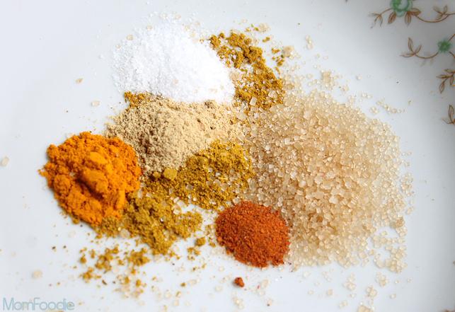 curry spice blend for shrimp