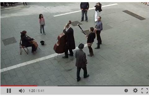 Street Musician Flash Mob