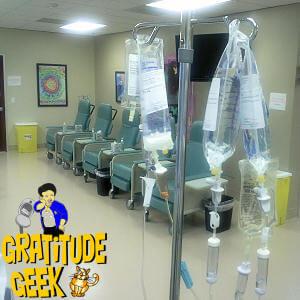 Christie, Renee and Kim, my chemo nurses