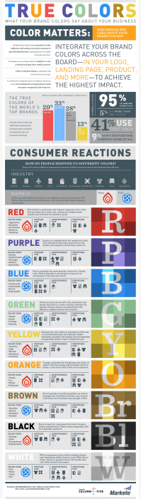 brand colors infographic