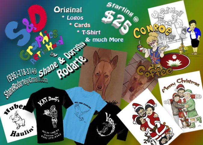 S & D Graphics | Custom greeting cards, t-shirts, logos and more.