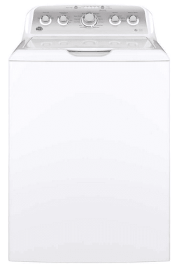 GE GTW500ASNWS Top Loading Washer with Stainless Steel Basket
