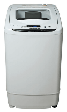 Magic Chef Compact 09 cu ft Portable Top Load Washer in White
